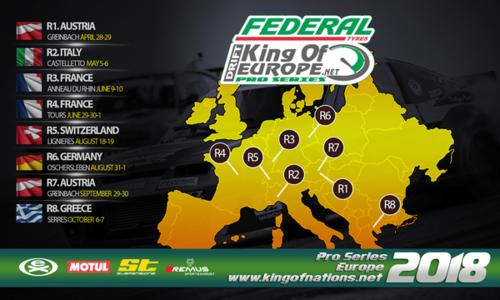 I кръг – King Of Europe – Austria